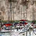 painting-of-sail-boats